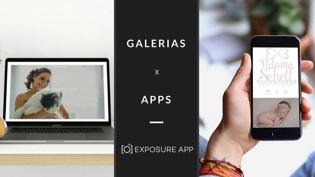 Galerias X Apps – Qual a diferença?
